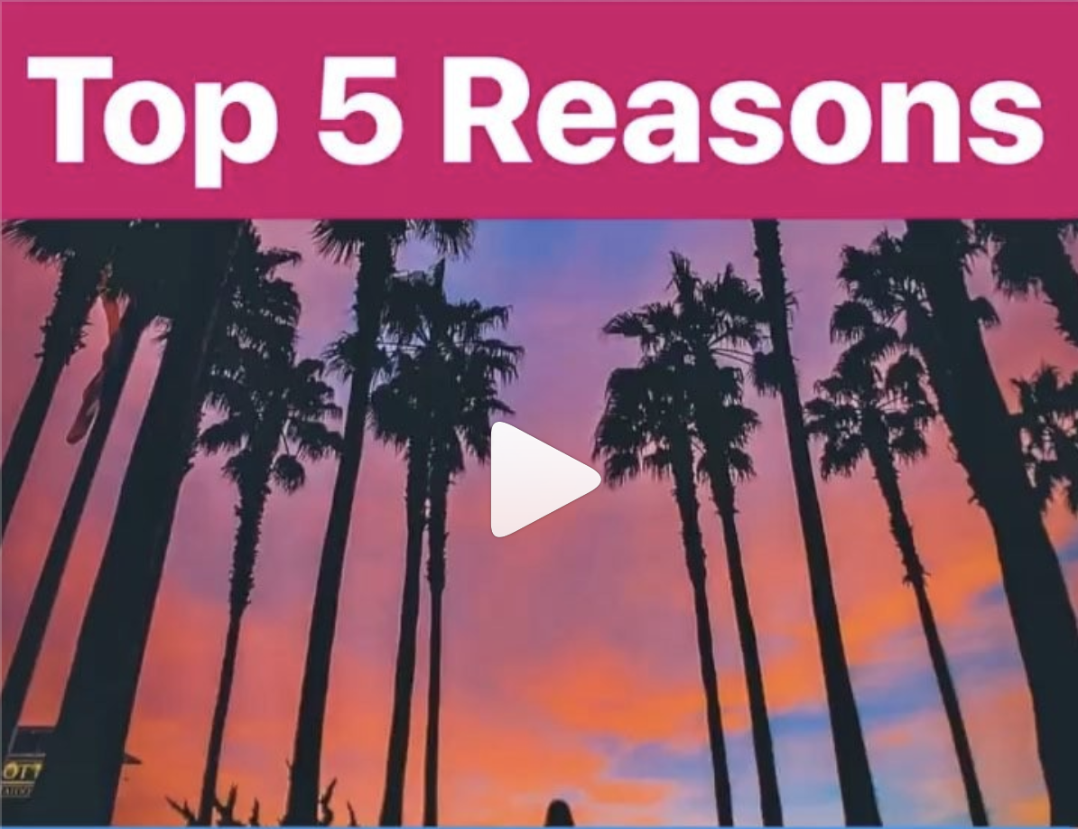 Top 5 Reasons to Move to Orange County